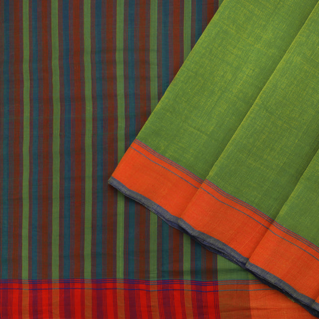 Kanakavalli Mangalgiri Cotton Sari 261-11-88886 - Cover View
