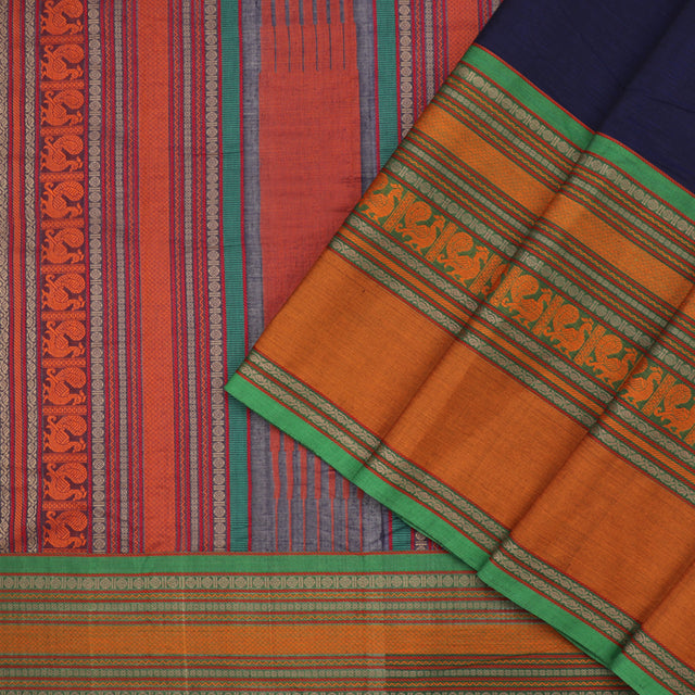 Kanakavalli Kanchi Cotton Sari 071-09-92149 - Cover View