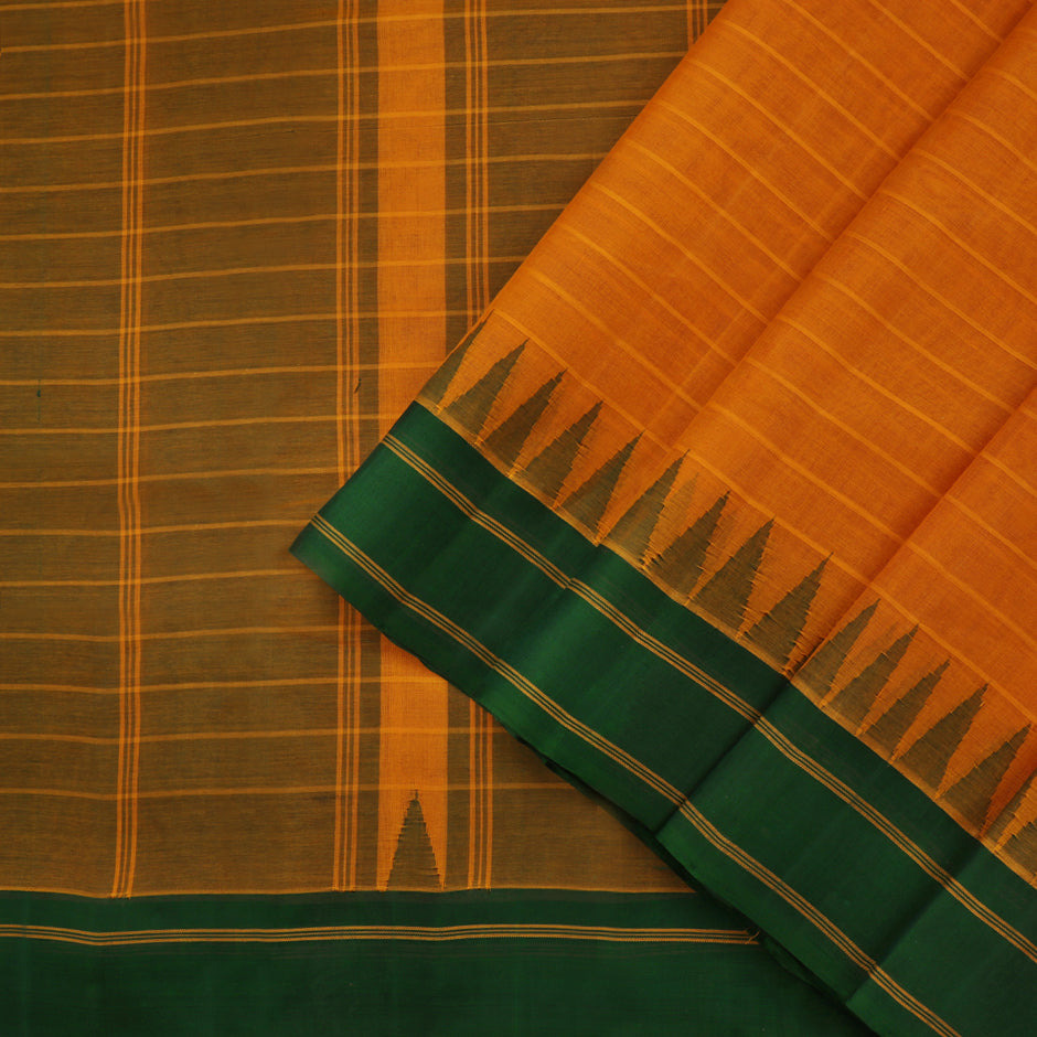 Kanakavalli Kanchi Cotton Sari 071-09-61471 - Cover View