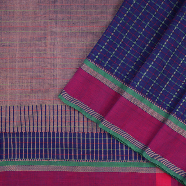 Kanakavalli Kanchi Cotton Sari 071-09-56456 - Cover View