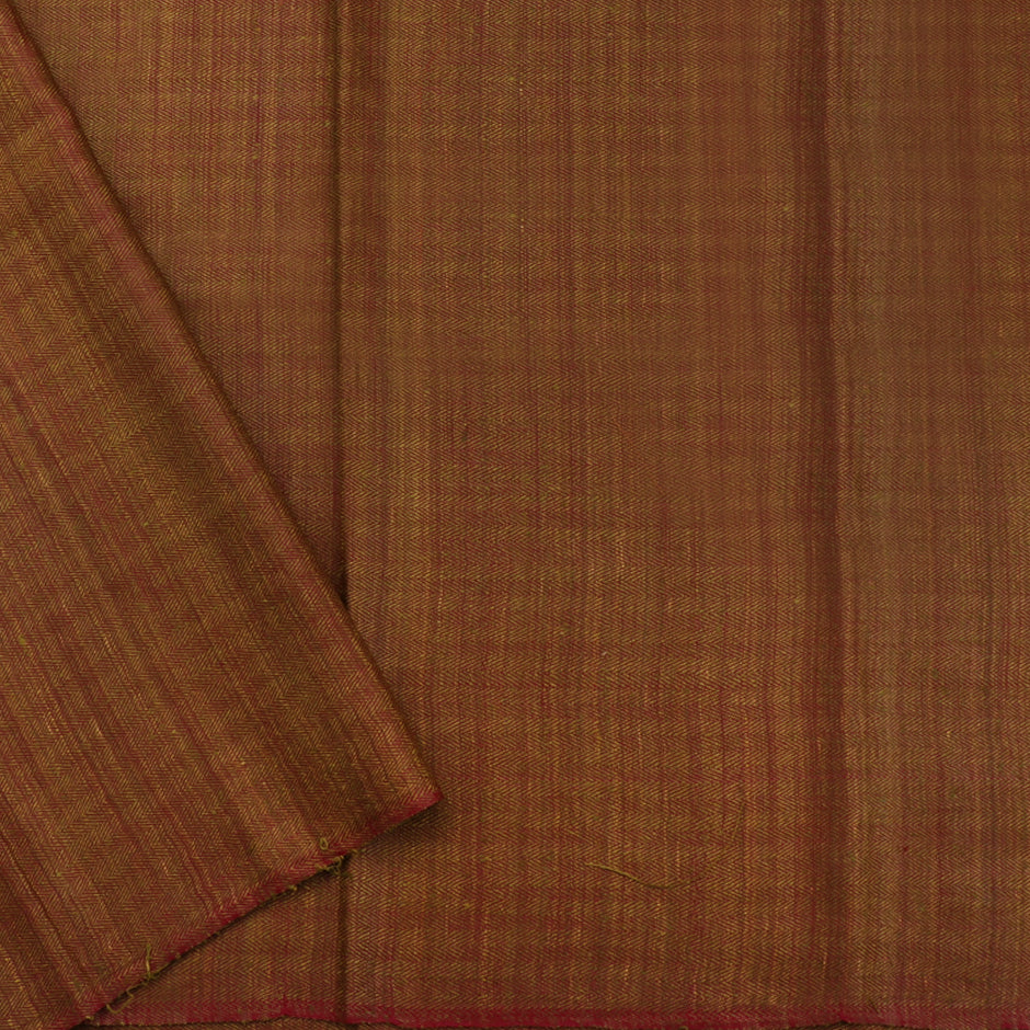 Kanakavalli Kattam - Vari Matka Silk Blouse Length 461-06-66236 - Cover View