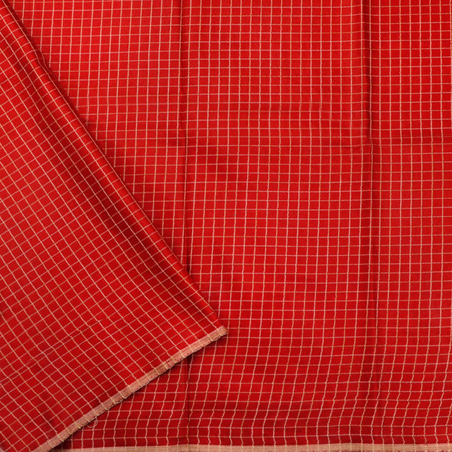 Kanakavalli Mixed Material Blouse Length 360-06-80459 - Cover View