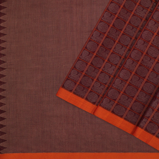 Kanakavalli Kanchi Cotton Sari 071-09-100019 - Cover View