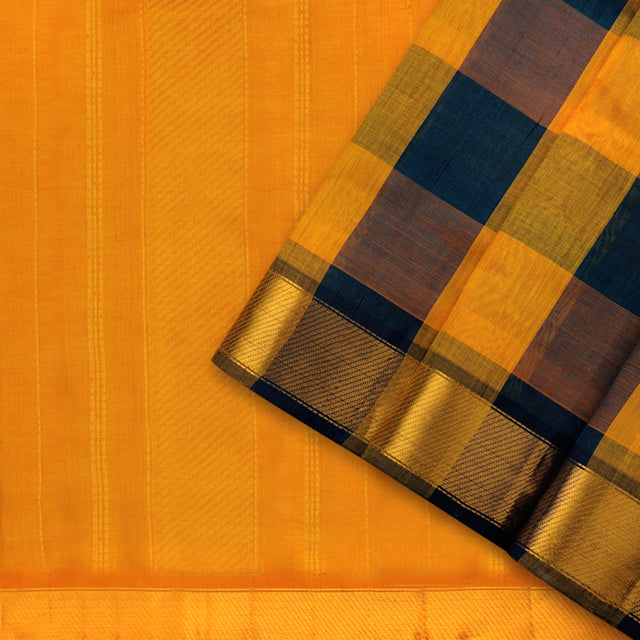 Kanakavalli Silk/Cotton Sari 593-08-91537 - Cover View