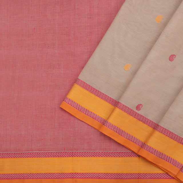 Kanakavalli Kanchi Cotton Sari 071-09-102253 - Cover View