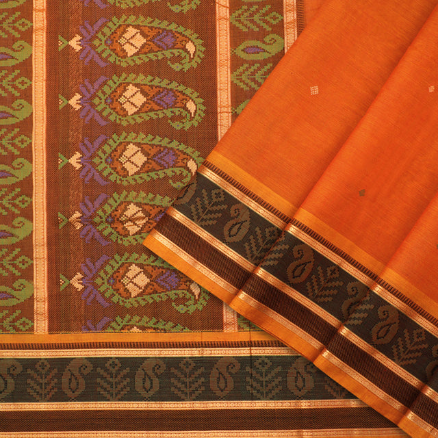 Kanakavalli Kanchi Cotton Sari 071-09-92223 - Cover View
