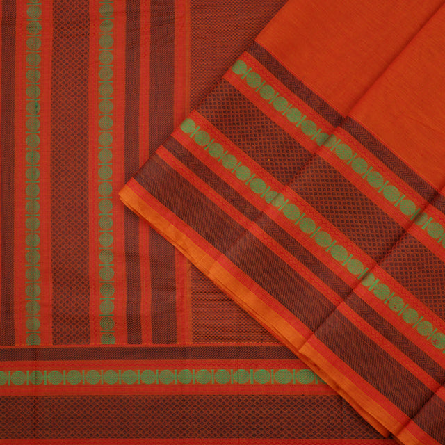 Kanakavalli Kanchi Cotton Sari 071-09-41766 - Cover View