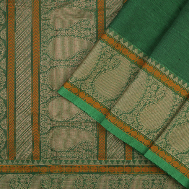 Kanakavalli Kanchi Cotton Sari 071-09-56410 - Cover View