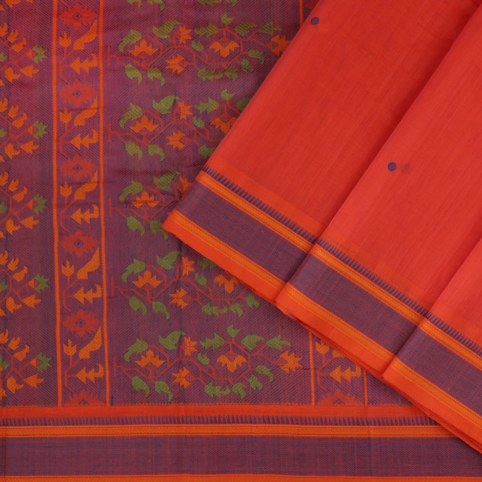 Kanakavalli Kanchi Cotton Sari 071-09-61771 - Cover View
