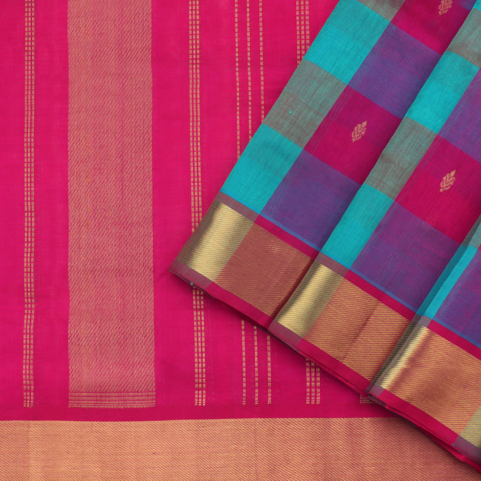 Kanakavalli Silk/Cotton Sari 550-08-87436 - Cover View