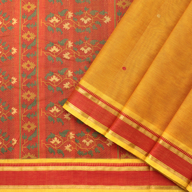 Kanakavalli Kanchi Cotton Sari 071-09-92229 - Cover View