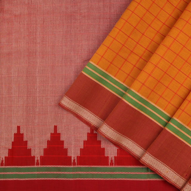 Kanakavalli Kanchi Cotton Sari 071-09-56356 - Cover View