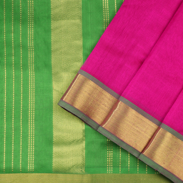Kanakavalli Silk/Cotton Sari 550-08-50757 - Cover View