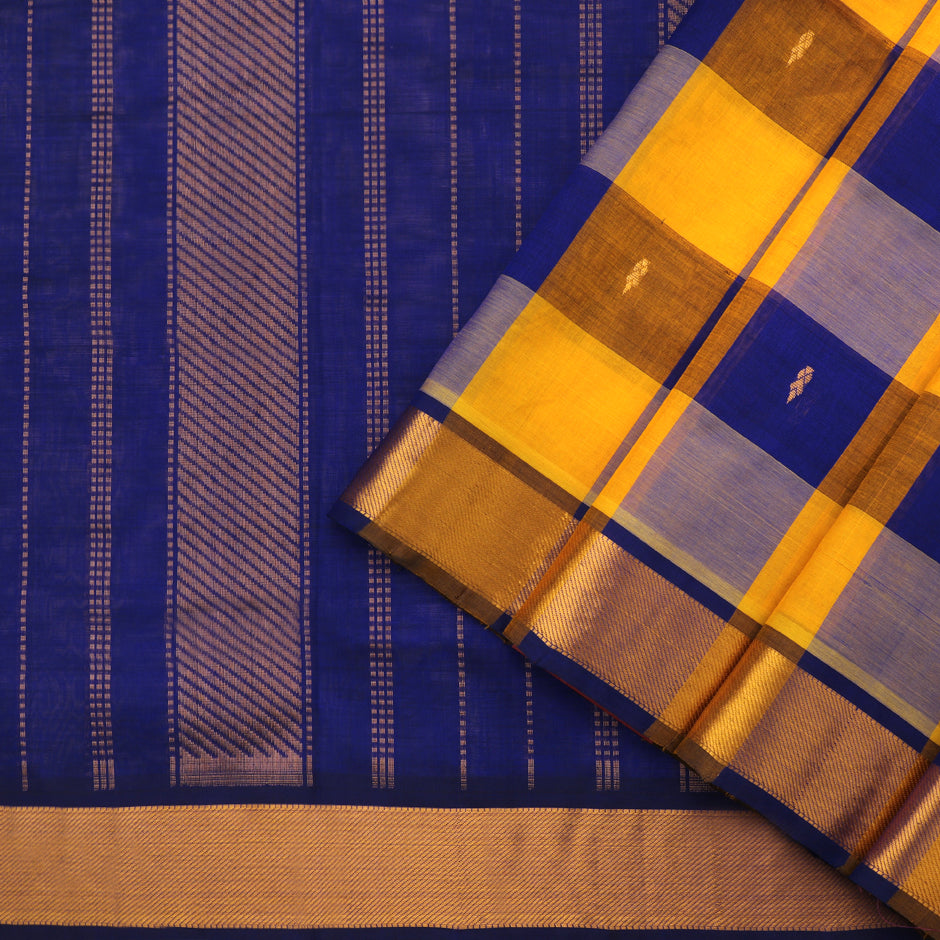 Kanakavalli Silk/Cotton Sari 550-08-90946 - Cover View
