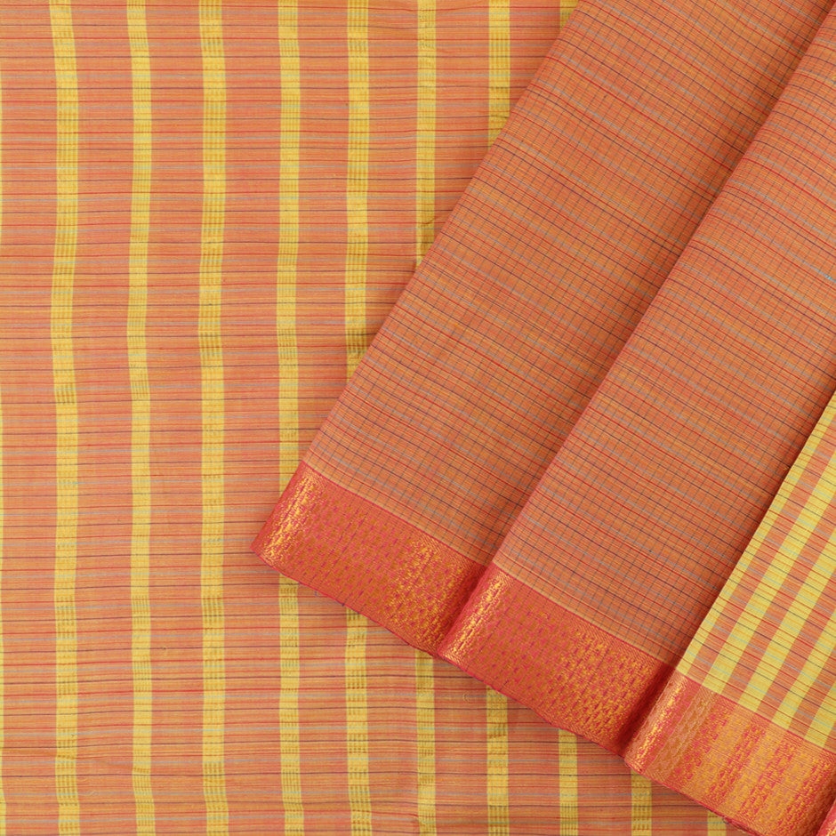 Kanakavalli Mangalgiri Cotton Sari 260-11-26467 - Cover View