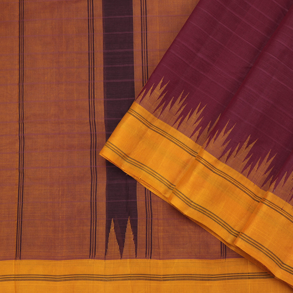 Kanakavalli Kanchi Cotton Sari 071-09-61464 - Cover View