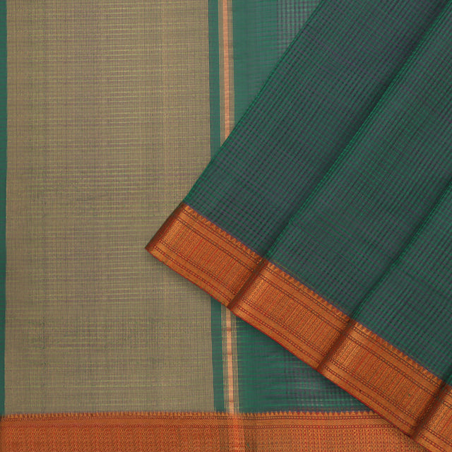 Kanakavalli Mangalgiri Cotton Sari 261-11-95618 - Cover View