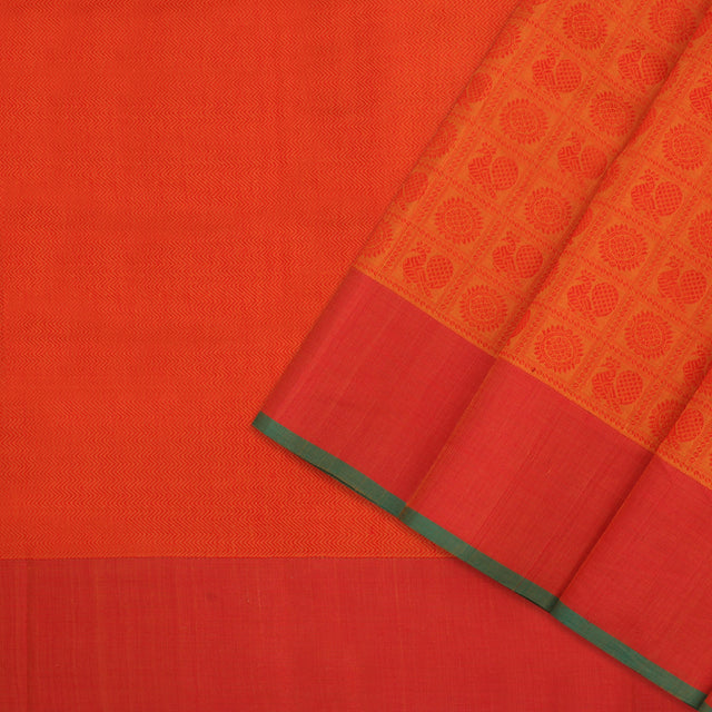 Kanakavalli Kanchi Cotton Sari 071-09-100048 - Cover View