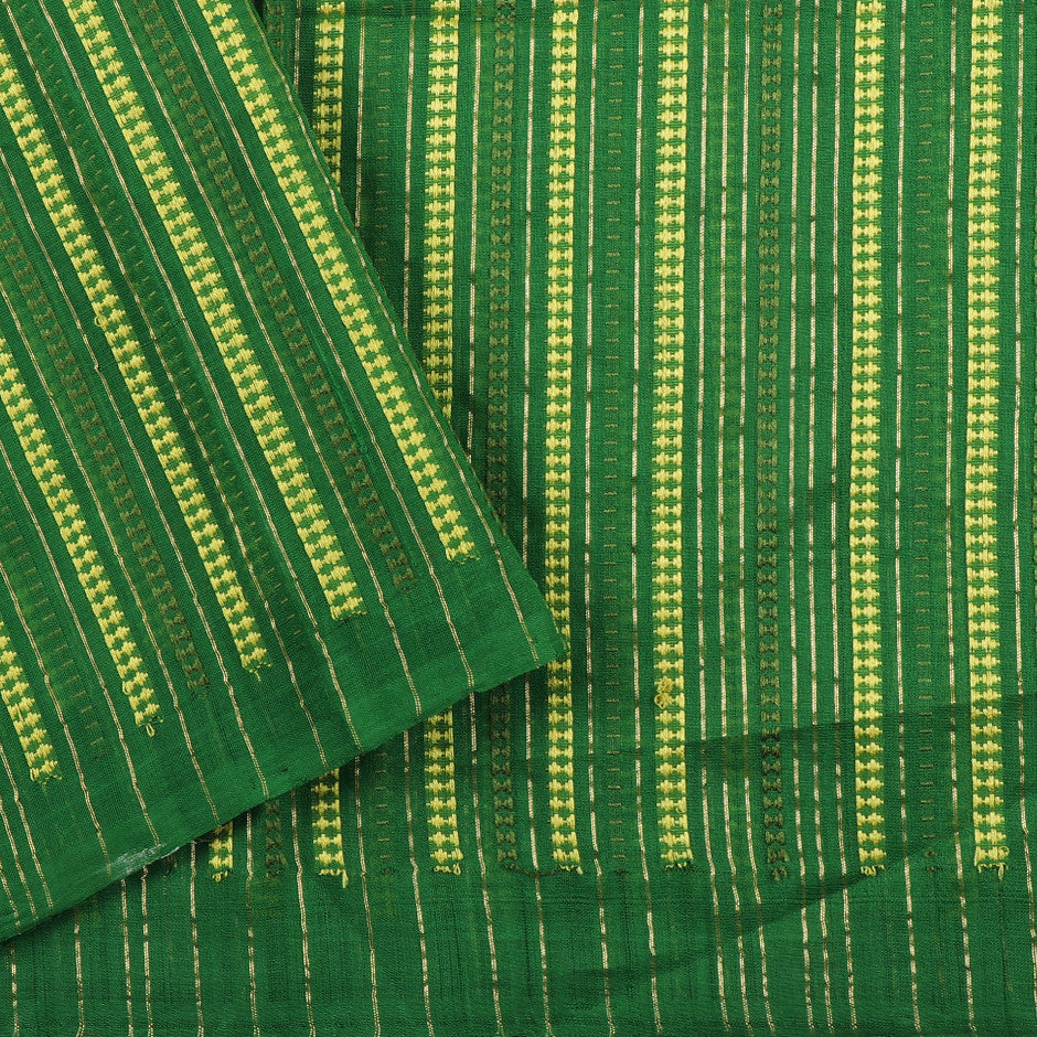 Kanakavalli Silk/Cotton Blouse Length 140-06-19346 - Cover View