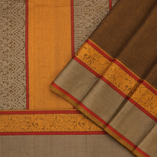 Kanakavalli Kanchi Cotton Sari 071-09-92191 - Cover View