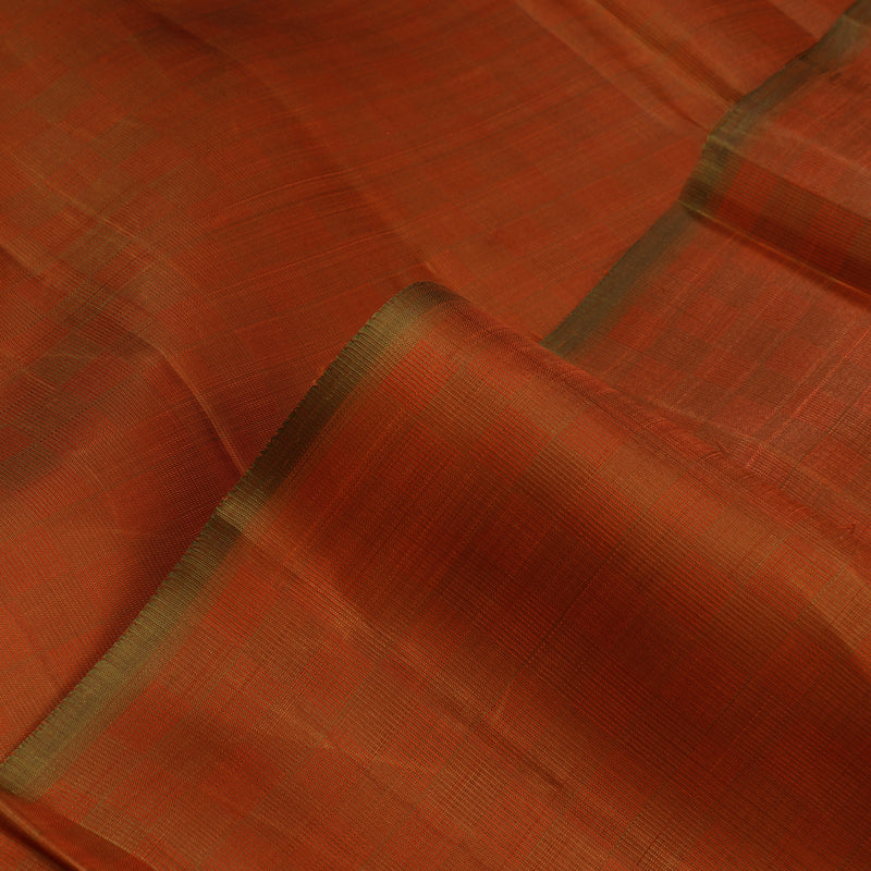 Kanakavalli Kanjivaram Silk Fabric Length 110-27-110223 - Profile View