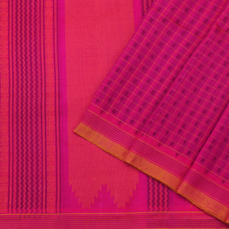 Kanakavalli Silk/Cotton Sari 071-08-80971 - Cover View