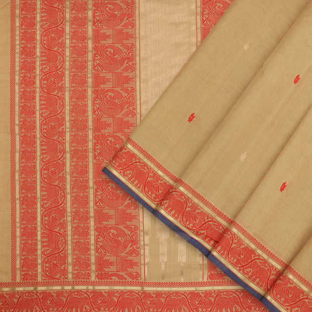 Kanakavalli Kanchi Cotton Sari 071-09-100175 - Cover View