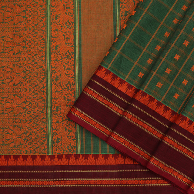 Kanakavalli Kanchi Cotton Sari 071-09-89572 - Cover View