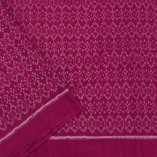 Kanakavalli Ikat Cotton Blouse Length 360-06-79996 - Cover View