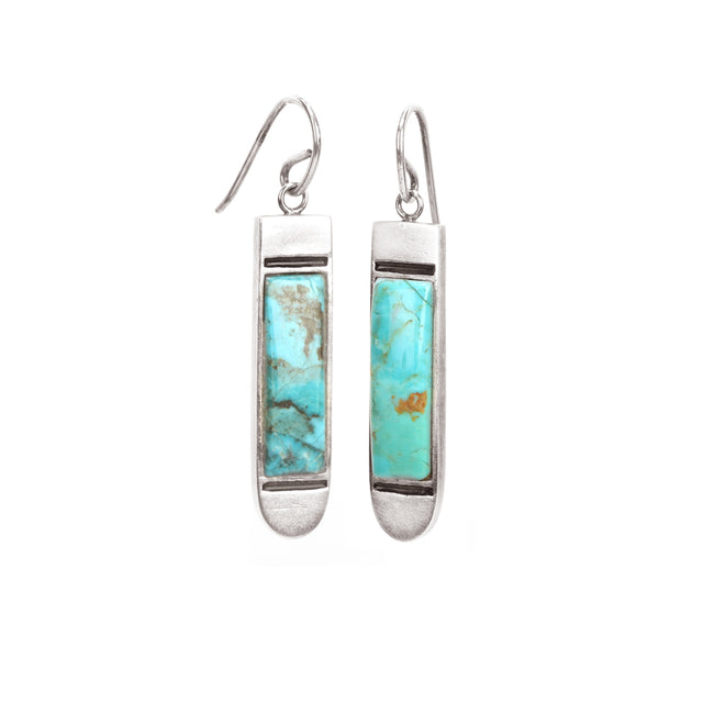 Ahalya Silver & Turquoise Earring 13_2979 - Cover View