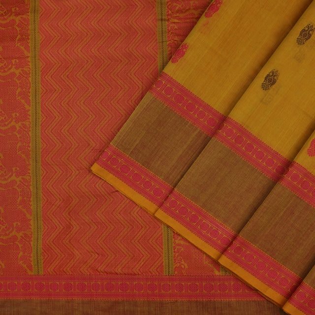 Kanakavalli Kanchi Cotton Sari 071-09-56501 - Cover View