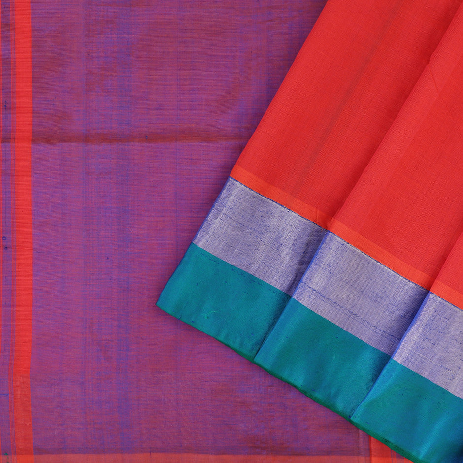 Kanakavalli Mangalgiri Cotton Sari 260-11-26499 - Cover View