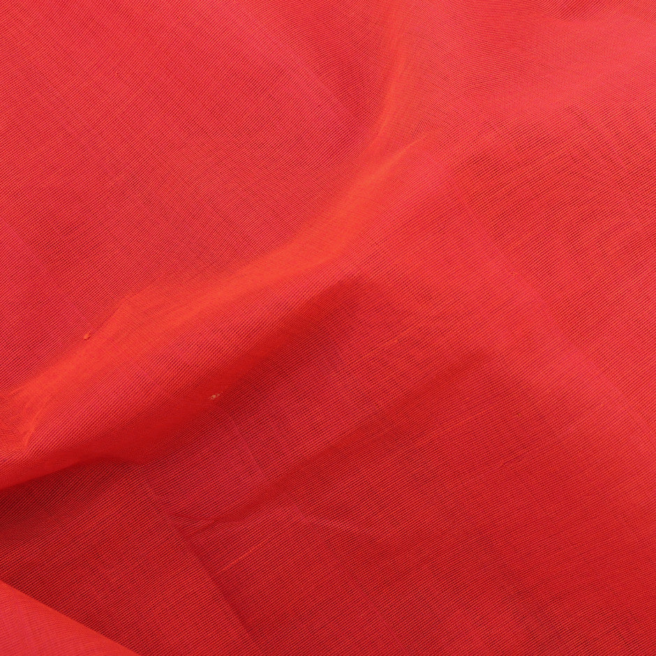 Kanakavalli Mangalgiri Cotton Sari 260-11-26499 - Fabric View