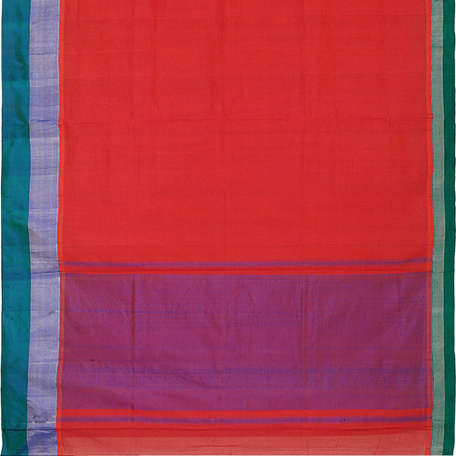 Kanakavalli Mangalgiri Cotton Sari 260-11-26499 - Full View