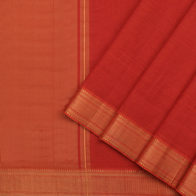 Kanakavalli Mangalgiri Cotton Sari 261-11-110690 - Cover View
