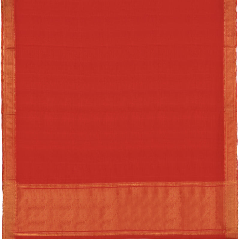 Kanakavalli Mangalgiri Cotton Sari 261-11-110690 - Full View