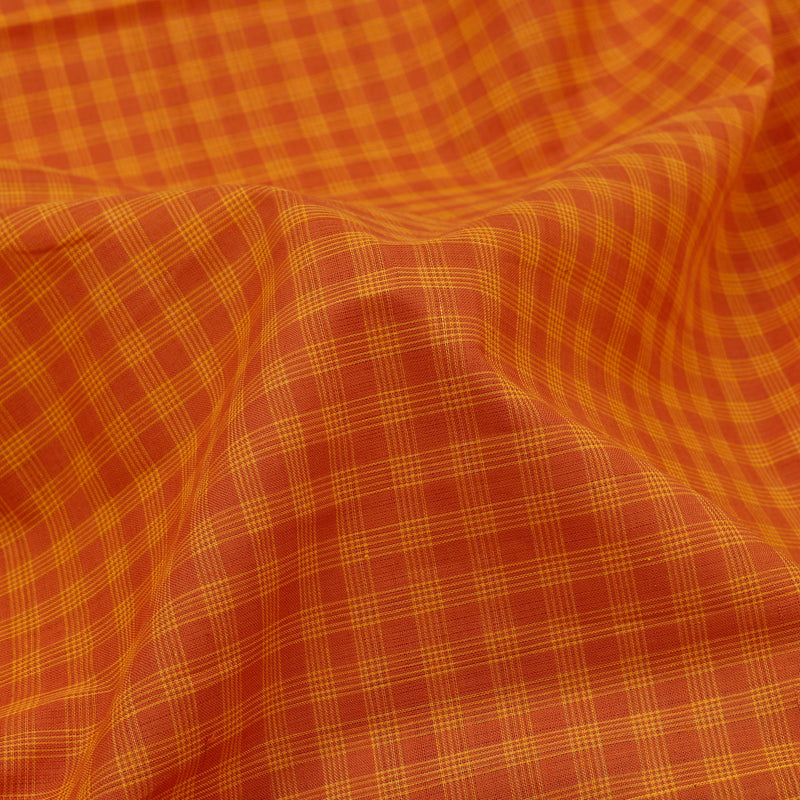 Kanakavalli Mangalgiri Cotton Sari 261-11-110782 - Fabric View