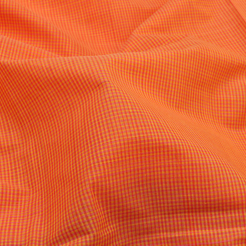 Kanakavalli Mangalgiri Cotton Sari 261-11-112995 - Fabric View