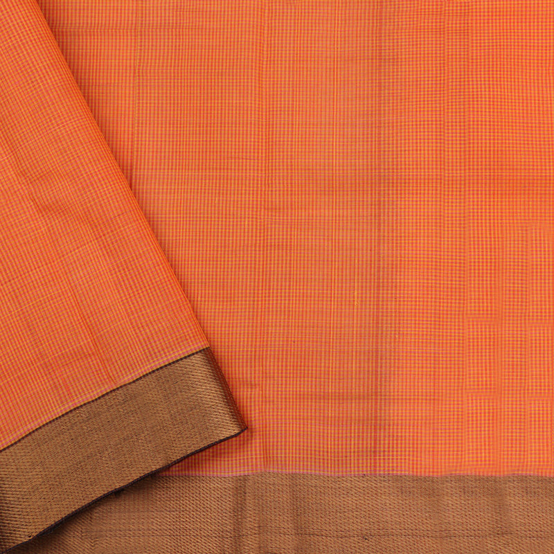 Kanakavalli Mangalgiri Cotton Sari 261-11-112995 - Blouse View