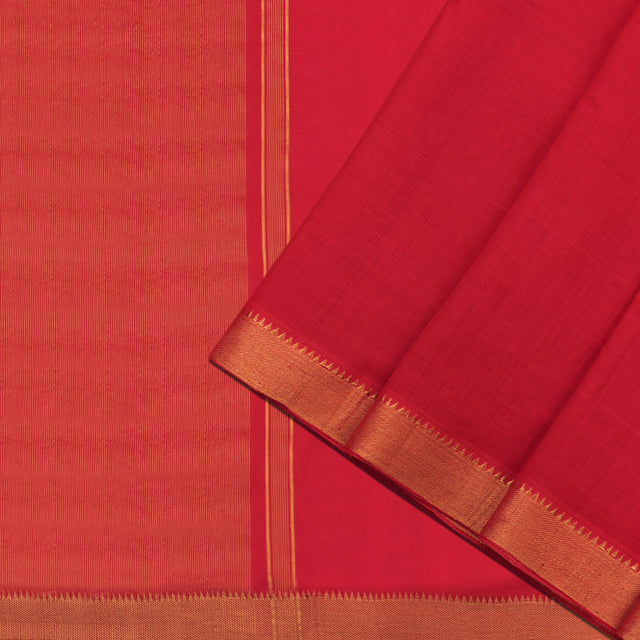Kanakavalli Mangalgiri Cotton Sari 261-11-86233 - Cover View