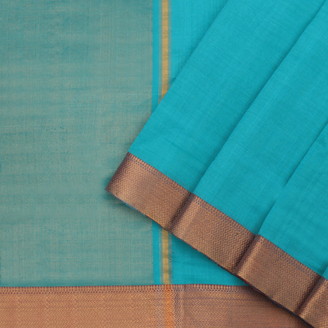 Kanakavalli Mangalgiri Cotton Sari 261-11-95580 - Cover View