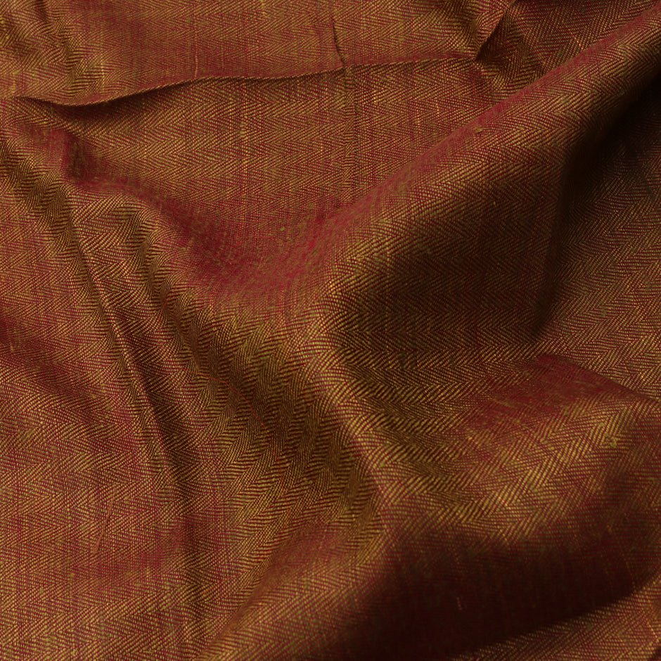 Kanakavalli Kattam - Vari Matka Silk Blouse Length 461-06-66236 - Fabric View