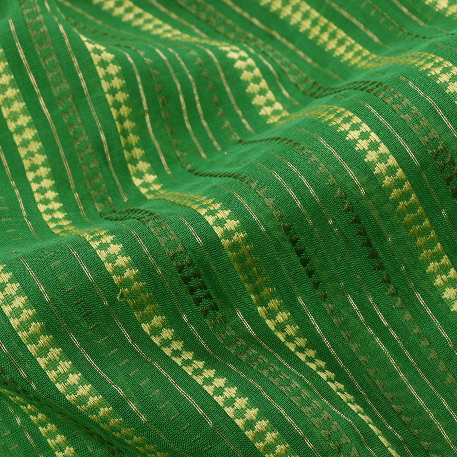 Kanakavalli Silk/Cotton Blouse Length 140-06-19346 - Fabric View