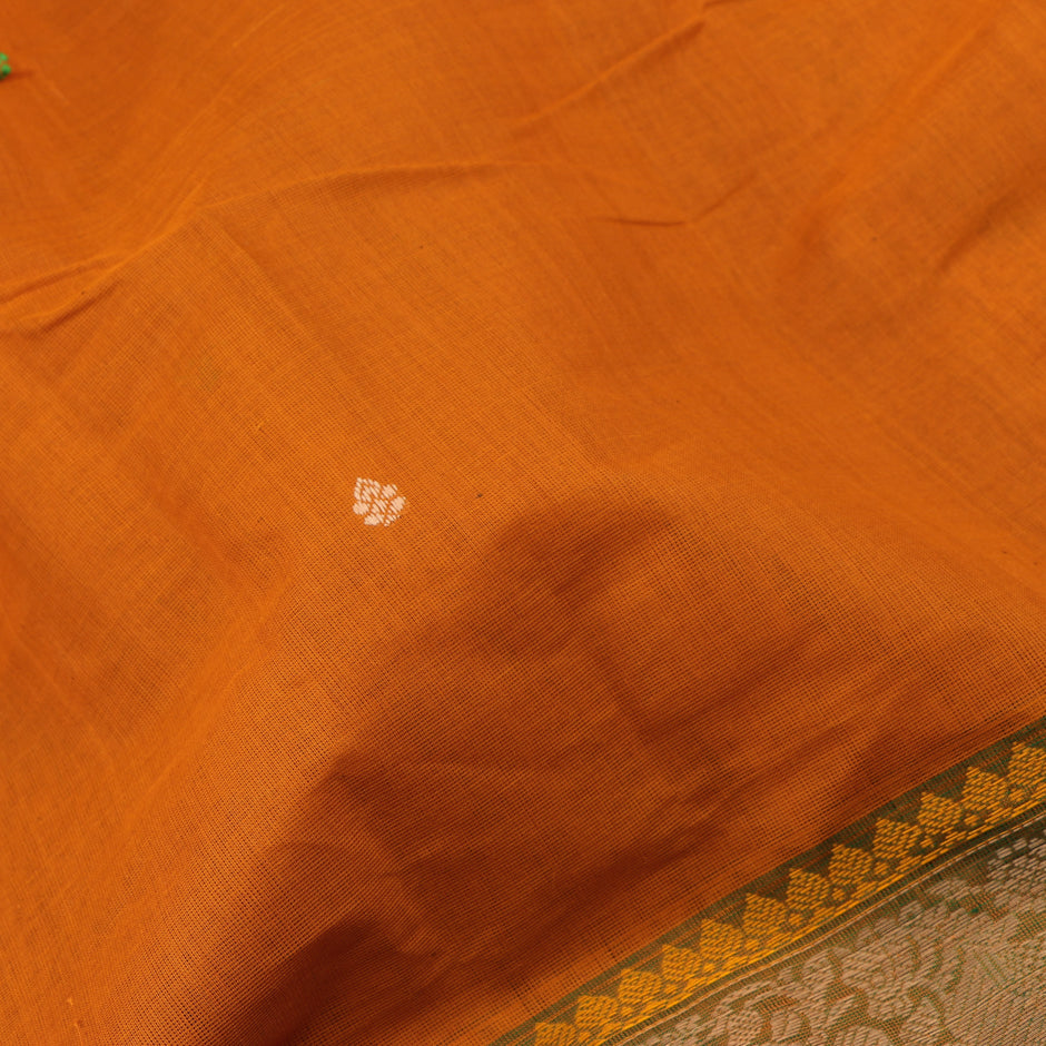 Kanakavalli Kanchi Cotton Sari 071-09-59544 - Fabric View