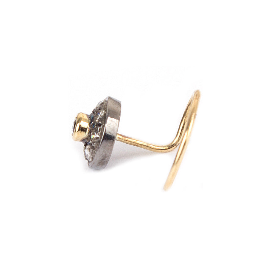 Ahalya Gold, Silver & Diamond Nosepin 0207090027A1 - Screw View