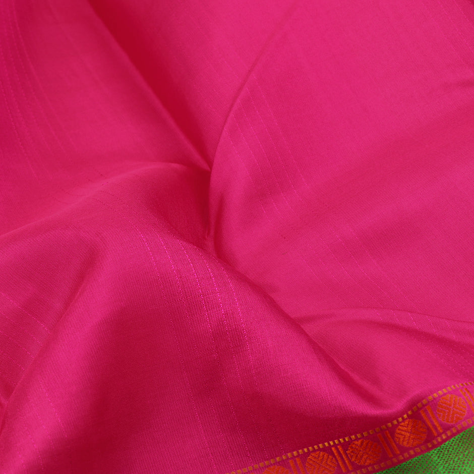 Kanakavalli Soft Silk Sari 071-01-66998 - Fabric View