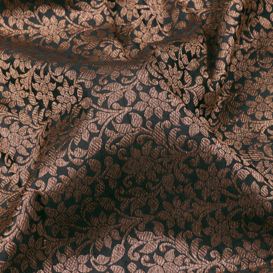 Kanakavalli Brocade Silk Blouse Length 140-06-78119 - Fabric View
