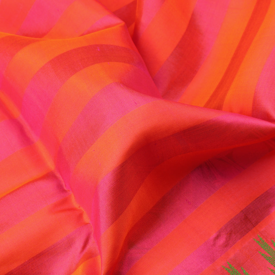Kanakavalli Soft Silk Sari 071-01-64049 - Fabric View