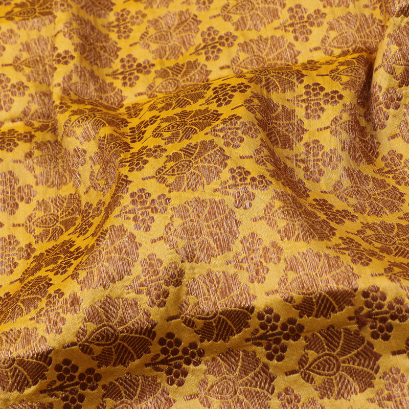 Kanakavalli Brocade Silk Blouse Length 200-06-43606 - Fabric View
