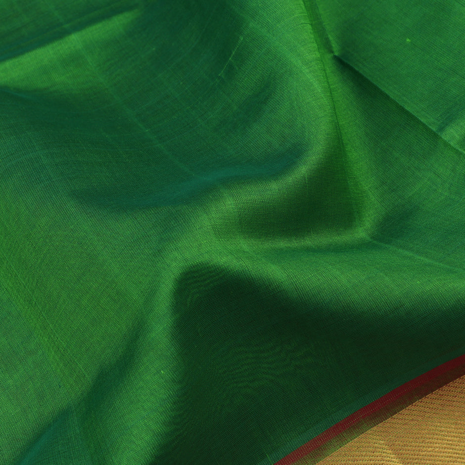 Kanakavalli Silk/Cotton Sari 071-08-41860 - Fabric View